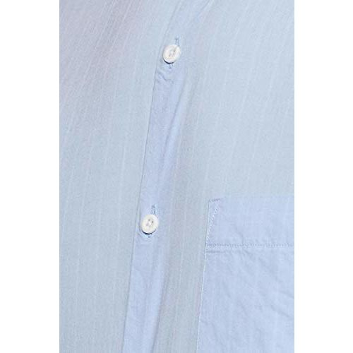 Diverse Men's Striped Slim fit Casual Shirt (DCMCF27SC24L05-3091A_Blue 2XL)