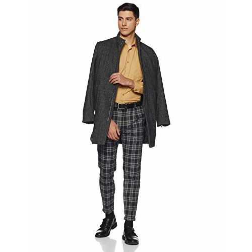 Diverse Men's Solid Regular fit Formal Shirt (DCMFF02RC09L03-765_Beige 40)
