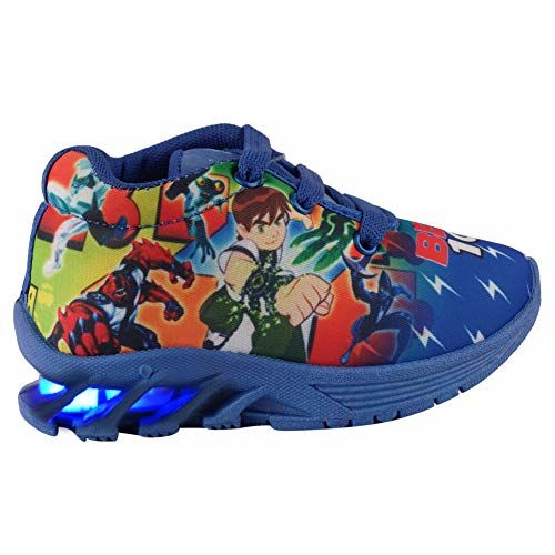 BUNNIES Boys' Blue Modern Shoes -6-7 years