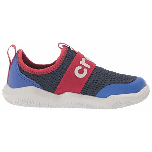 crocs Unisex Kid's Navy/Pepper Sneakers-12 UK (29.5 EU) (12 US) (205362-4CC)
