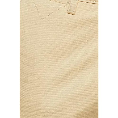 Diverse Men's Slim Fit Casual Trousers (DCMCT43SC19L32-1100C_Cream_34W x 33L)