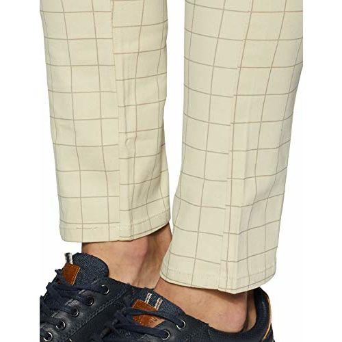 Diverse Men's Slim Fit Casual Trousers (DCMCT14SC19L31-1034A_Beige_34)