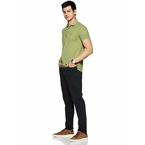Amazon Brand - Symbol Men's Slim Fit Chinos (AW19-TR-SCRSS-06_Black_30)