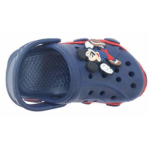 NEW AMERICAN Baby Boy's Navy Blue & Red Clog - 28 ( 5 to 5.5 years )