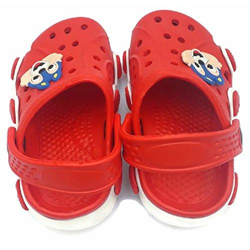 NEW AMERICAN Baby Boy's Red Clog - 4 Years