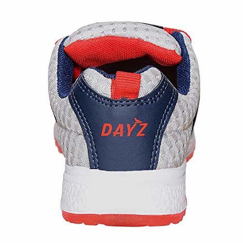 DAYZ Boy's Running Shoes-5 UK (38 EU) (KSJ-14 V.N. Black-Red_5)