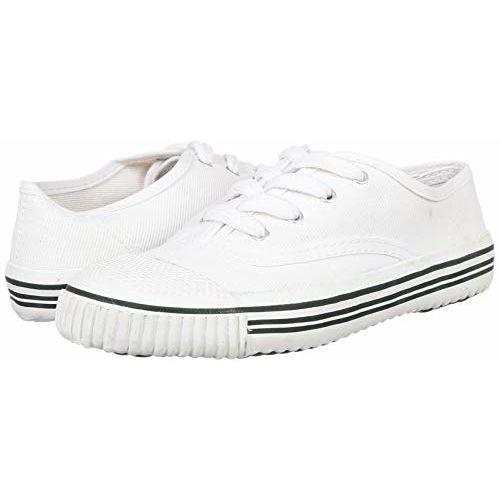 PARAGON Kid's White School Shoes