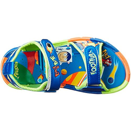 Liberty Footfun (from Unisex Kld-001 Blue Sandals and Floaters - 11 Kids UK/India (29 EU) (2126003119290)