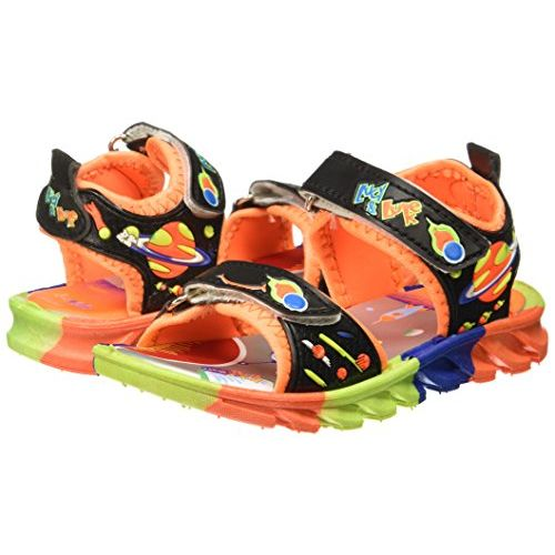 Liberty Footfun (from Unisex Black Sandals and Floaters - 8 Kids UK/India (26 EU) (2126002100260)