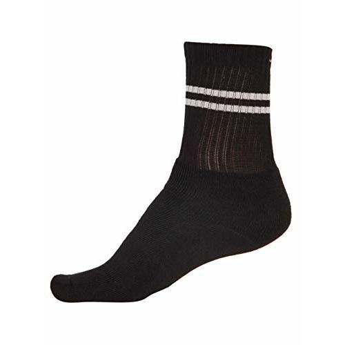 Jockey Men's Cotton Socks (7035_Free Size_Black)