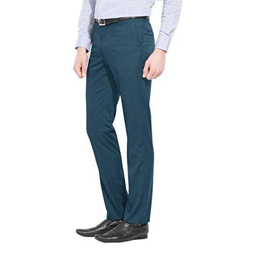 AD & AV Men's Regular Fit Formal Trousers