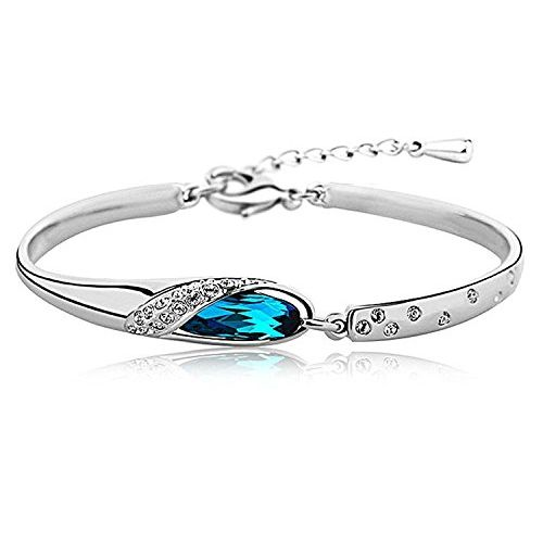 Youbella Artificial Jewellery Combo Of Two Crystal Bangles Bracelets For Girls And Women (Multi-Color)