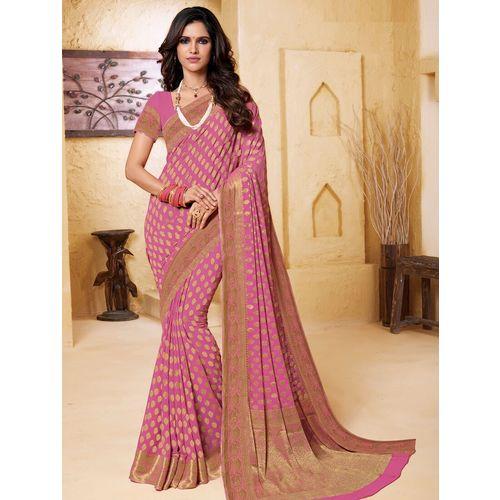 The Fashion Attire self design woven saree with blouse