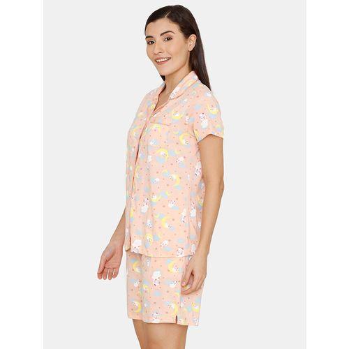 Zivame printed nightwear set