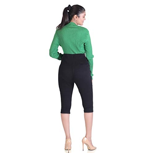 Hriday Fashion Cotton 3/4 Leggings Maternity Wear