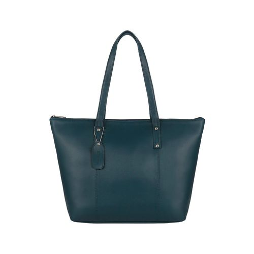 Toteteca blue leatherette (pu) regular handbag