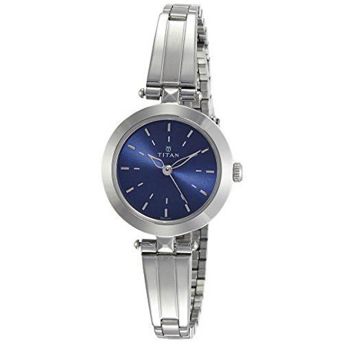 Titan Analog Blue Dial Women's Watch-NM2574SM01 / NL2574SM01