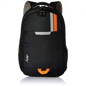 Skybags Komet 01 26 Ltrs Black Laptop Backpack (Komet 01)