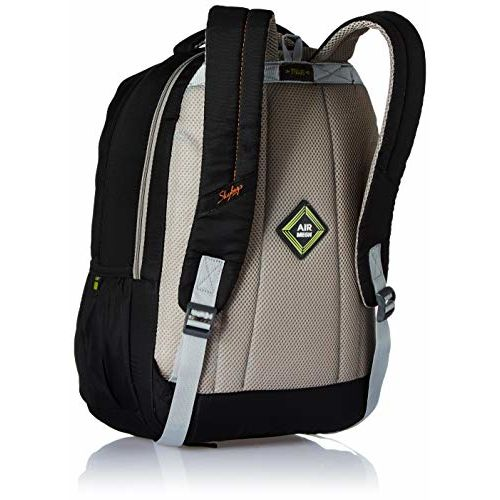 Skybags Komet 01 26 Ltrs Black Laptop Backpack (Komet 01)