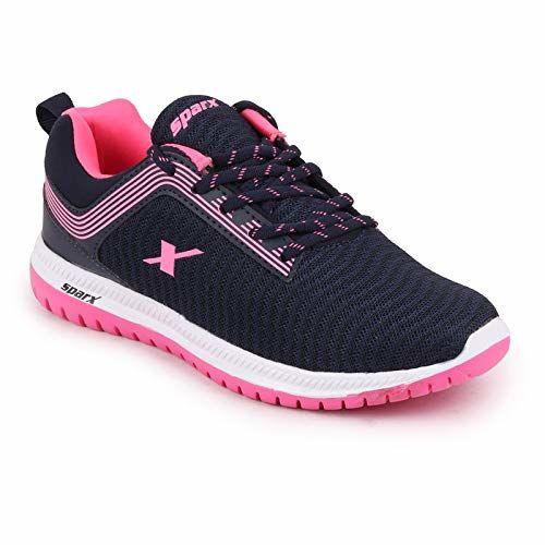 Sparx Women's N. Blue Pink Running Shoes-4 UK (36 2/3 EU) (SX0164L_NBPK0004)