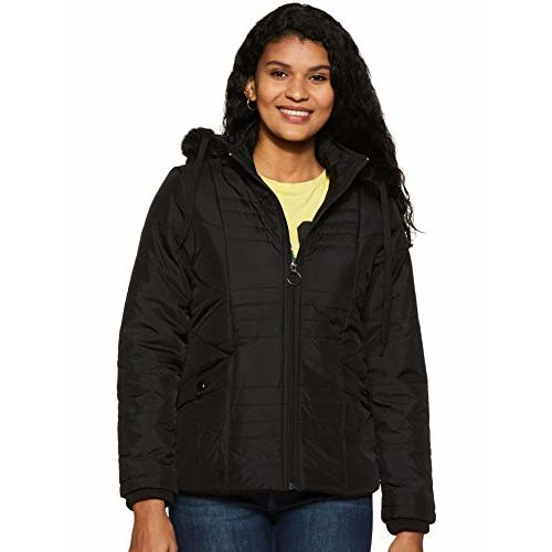 Qube By Fort Collins Women's Jacket (89407AZ_3_Black_M)