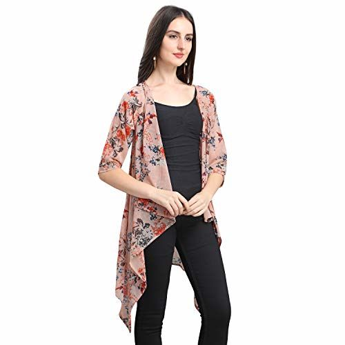 Serein Women's Blouson Coat (SER-E-113-XS_Pink_X-Small)