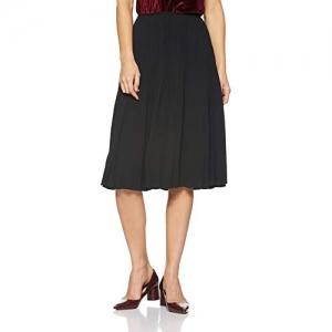 VERO MODA Black Polyester  A-Line Maternity Skirt