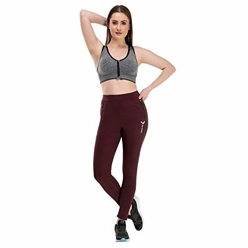 Pipal Front Open Zipper Padded Sports Bra for Gym Yoga Dancing Workout or Aerobic (Pack of 2) (Free Size, Fits Best- 28B-36B)