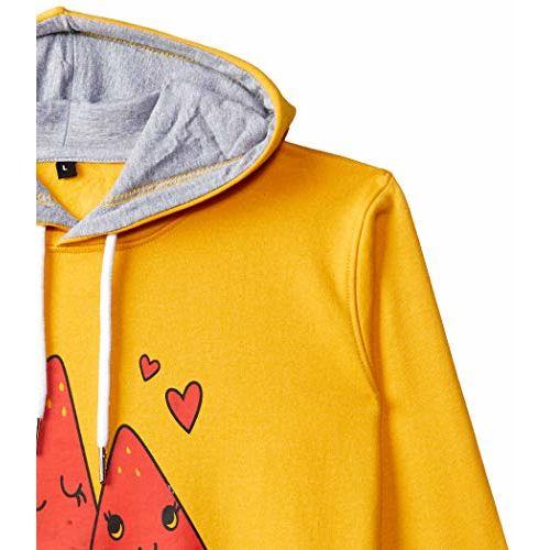 T2F Girl's Sweatshirt (BYS-SS-06_Multicolor_3-4 Years)