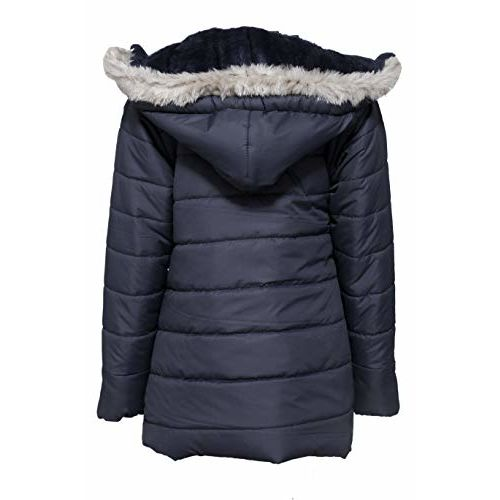 COME IN KIDS Girl's Polyester Winter Wear Full Sleeve Jacket (Black, 4-5 Years)