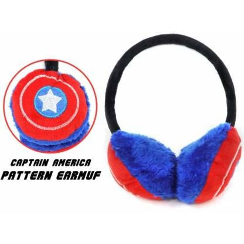 Handcuffs Ear Muffs/Ear Warmer for Kids (Red)