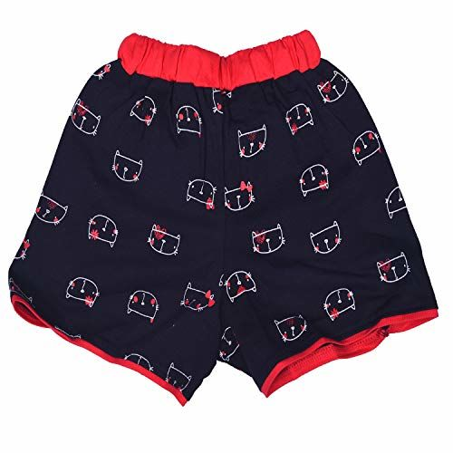 Chocoberry Printed Girls Shorts Pack of 3 (Multicolored, 18-24 Months)