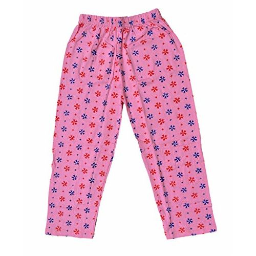IndiWeaves Girls Cotton Pyjama/Lower/Trackpants (Pack of 3) (360686967-IW-B-P3-28_Multicolor_6-8 Years)