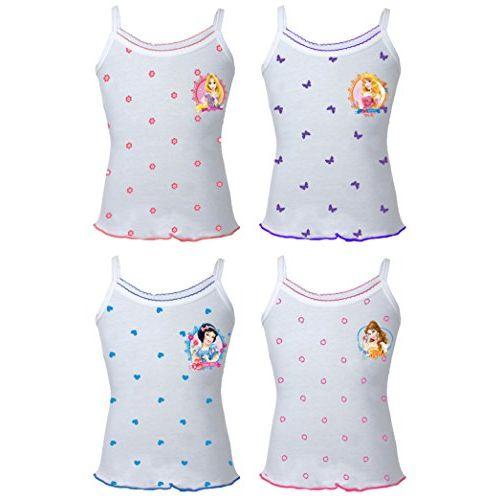 BODYCARE Snowhite Printed Slip for Girls Pack of 4