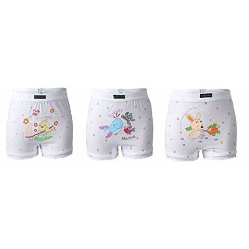 BODYCARE Girls' Cotton Bloomers (BC305--parent sku_Multicolored_3-4 Years)