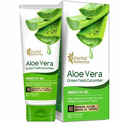 Oriental Botanics Aloe Vera, Green Tea & Cucumber Under Eye Gel, 40ml