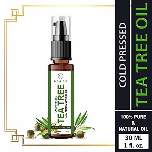 Newish Tea Tree Essential Oil for Skin Acne and Hair 30ml