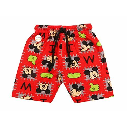 Trendy Dukaan Boys Pure Cotton Printed Half Pants - Pack of 5 (6-12 Months- 45)