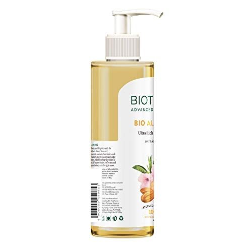 Biotique Almond Oil Ultra Rich Body Wash, Botanical Extracts, 200 ml