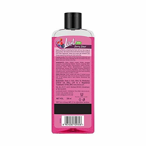 Liril Berry Blast Body Wash, 250 ml And Dove Dryness Care Conditioner, 180ml