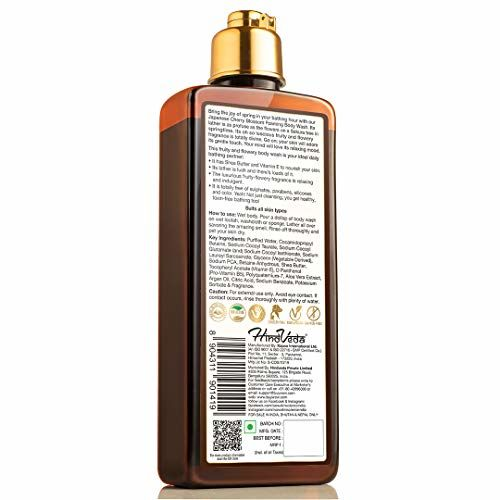 WOW Skin Science Japanese Cherry Blossom Foaming Body Wash - No Parabens, Sulphate, Silicones & Color, 250 ml