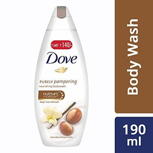 Dove Shea Butter and Warm Vanilla Body Wash, 190ml