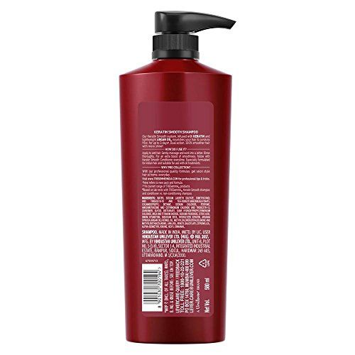 TRESemme Keratin Smooth Shampoo, 580ml And TRESemme Hair Fall Defense Conditioner, 190ml