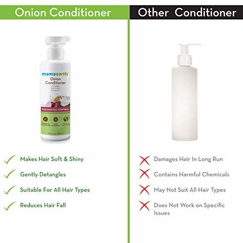 Mamaearth Onion Conditioner for Hair Growth & Hair Fall Control with Coconut Oil 250ml