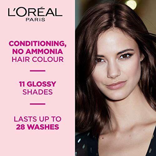 L'Oreal Paris Casting Creme Gloss Hair Color, Darkest Brown 300, 87.5g+72ml
