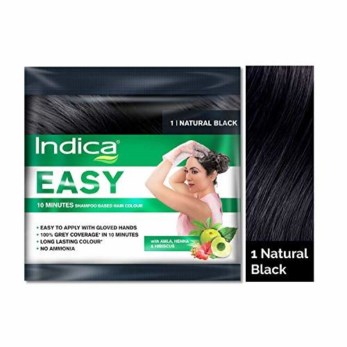 Indica Easy Hair Color Natural Black, 25ml
