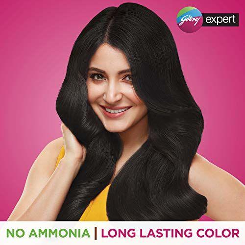 Godrej Expert Rich Creme Hair Colour (Single Use) Shade 1 NATURAL BLACK