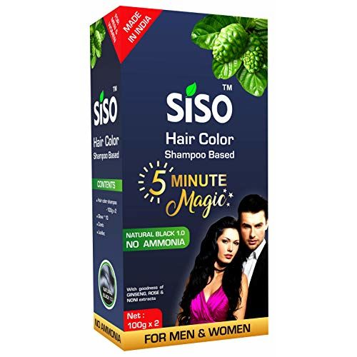 Siso 5 Minute Magic Hair Color 200g