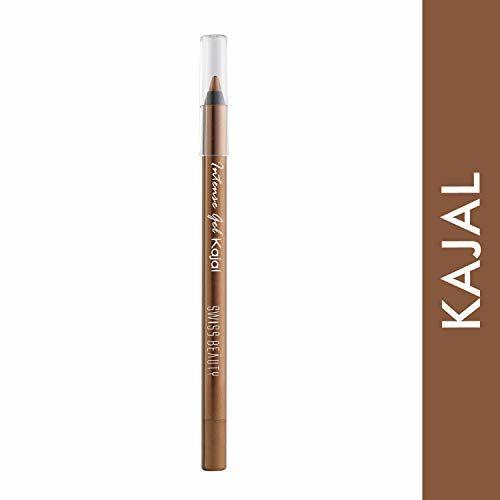Swiss Beauty Intensegel Kajal Eyeliner, Eye MakeUp, Bronze, 1.2g