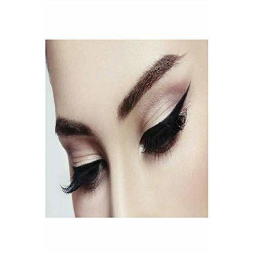 Cosmac Professional Combo Waterproof Eyeliner, Mascara, Eyebrow Pencil With Eyeconic Kajal In Black - Set Of 4